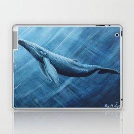 Watercolor Whale Laptop & iPad Skin