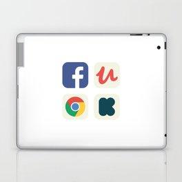 Favorite Apps Set 01 Laptop & iPad Skin