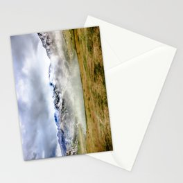 Lago Ercina in National park Picos de Europa Stationery Cards