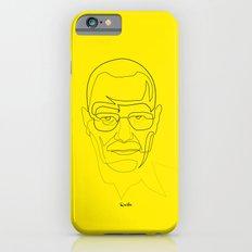 One Line Breaking Bad: Heisenberg iPhone 6s Slim Case