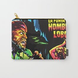 The fury of wolfman * La furia del Hombre Lobo * Vintage Movies Inspiration Carry-All Pouch