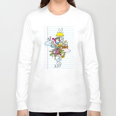 Notebook World Long Sleeve T-shirt
