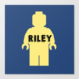Riley Block Canvas Print