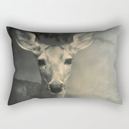 GOOD MORNING, DEER Rectangular Pillow
