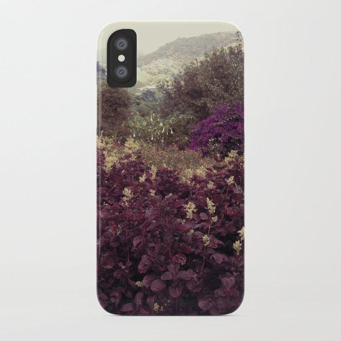Highlands Flowers iPhone Case