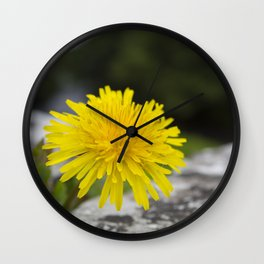 Between two stones Wall Clock