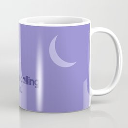 Hiking at night Coffee Mug