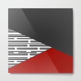 Simple patchwork Metal Print