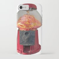 gumball iPhone & iPod Cases featuring Gumball Machine by MiaKat