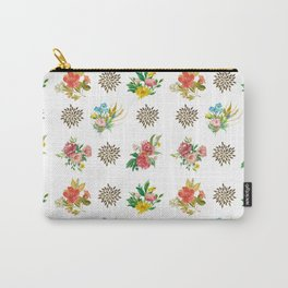 Pretty Floral Boutiques of Flowers Carry-All Pouch