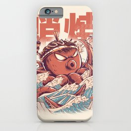Takoyaki Attack iPhone Case