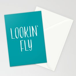 Lookin' Fly Stationery Cards
