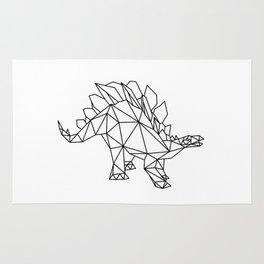 Funny Stegosaurus Dinosaur Rug