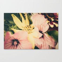 Flower bouquet... Canvas Print