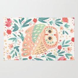 Little Pink Owl Rug