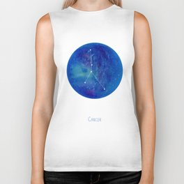 Constellation Cancer Biker Tank