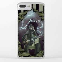 Tragically Ever After: Severus Snape Clear iPhone Case