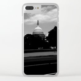 Guarding the Capitol Clear iPhone Case