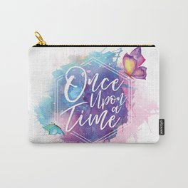One upon a time Carry-All Pouch