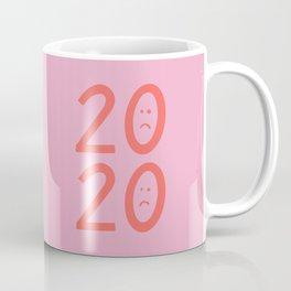 2020 Unhappy Emoji Year Coffee Mug
