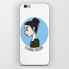 Claire Fraser iPhone Skin