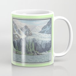 HIDDEN TOWER IN THE INLAND PASSAGE VINTAGE OIL PAINTING Coffee Mug