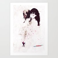 the shining Art Prints featuring Shining by  Maʁϟ