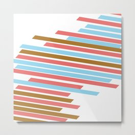 stripes Metal Print