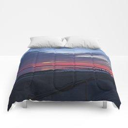 Magic Summer Sunset on the West Coast of DENMARK Comforters