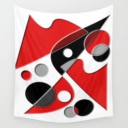 Abstract #516 Wall Tapestry