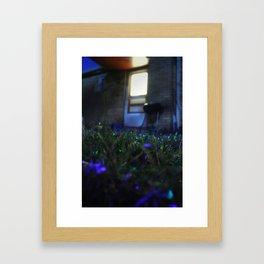A Magical Backyard Framed Art Print