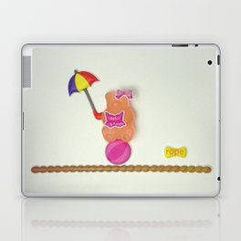 Sally on the tightrope Laptop & iPad Skin