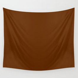 Delirious Place ~ Gingerbread Brown Wall Tapestry