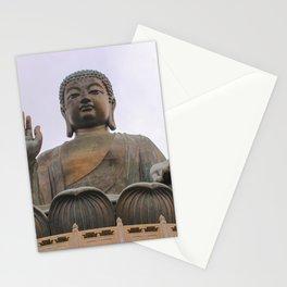 Giant Buddha - Lantau Island, Hong Kong Stationery Cards