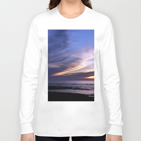Feathered Clouds at Sunset Long Sleeve T-shirt