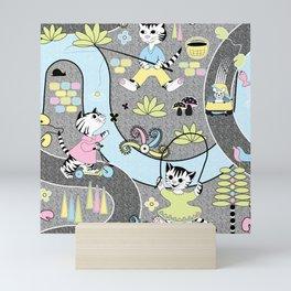 3 Little Kittens Mini Art Print