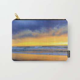 Mood at the Beach by Reay of Light Photography Carry-All Pouch