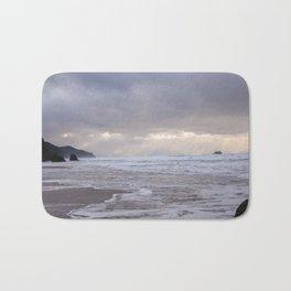 Foggy Beach (colour) Bath Mat
