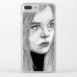 vacancy Clear iPhone Case