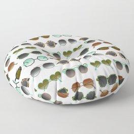 Sunglasses Collection – Mint & Tan Palette Floor Pillow