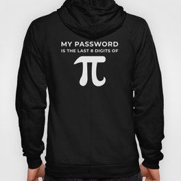 My password is the last 8 digits of PI Hoody