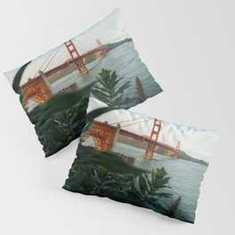 San Francisco Bridge Plant (Color) Pillow Sham