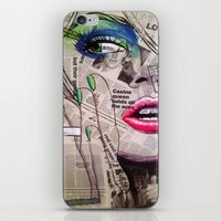 newspaper iPhone & iPod Skins featuring NewsPaper  by cchelle135