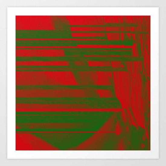 FF0000 Art Print