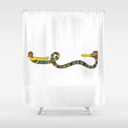 Monster_03 Shower Curtain