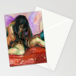 Weeping Nude - Digital Remastered Edition Stationery Cards