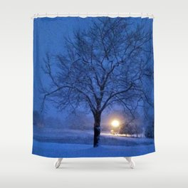 April's Tree Shower Curtain