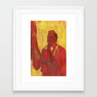 soviet Framed Art Prints featuring Soviet by Gokhan Gokseven