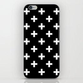plus pattern iPhone Skin