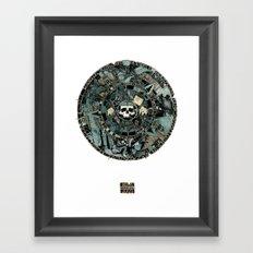 Calender Framed Art Print